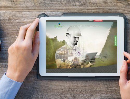 Terra Spectrum Technologies Rebrand + Web Site
